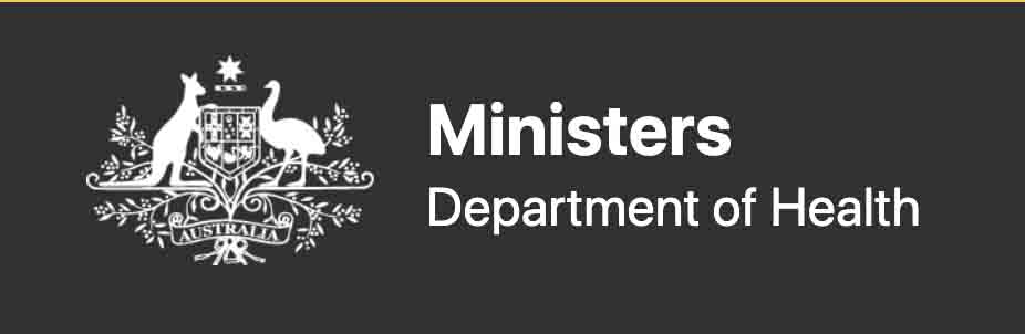 Ministers Department of Health logo